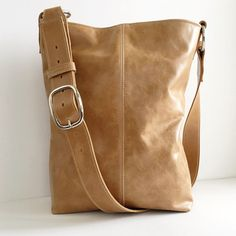 INDIE Leather Tote  Boho  Leather Crossbody Bag  by margeandrudy