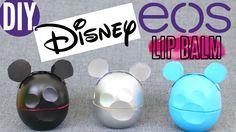 DIY EOS Disney Mickey Mouse Lip Balm | rosaliesaysrawr
