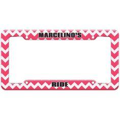Marcelino's Ride - Plastic License Plate Frame