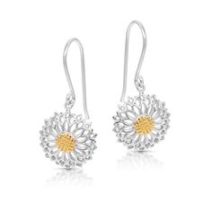 Golden Pollen SunFlower Earrings Never Rust 925 Sterling Silver Natural and Hypoallergenic Hooks For Women and Girls with Free Breathtaking Gift Box for a Special Moment of Love By BLING BIJOUX Mother Birthday, 25th Birthday, 30th, Dangle Earrings, Crochet Earrings, Sunflower Jewelry, Women Jewelry, Fashion Jewelry, Gifts For An Artist