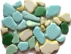 Buy it now at our #Etsy store! Sea glass milk glass :-)  https://www.etsy.com/ca/listing/532349798/sea-glass-beach-glass-milk-glass-tile?ref=shop_home_active_8  #seaglass #beachglass #milkglass #pastelcolors