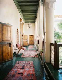 the floor, the rugs, the doors, the ceiling. Just plain beautiful