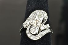 2.37 Carat Art Deco Diamond Ring