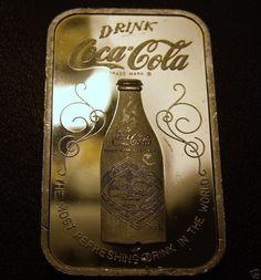 75th anniversary coke silver bar
