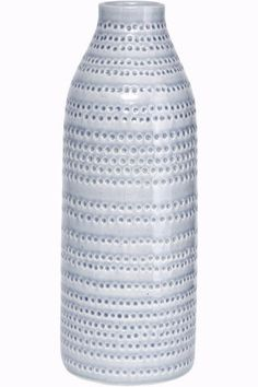 Tall Grey Vase - Trouva