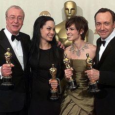 The Oscars 2000 | Angelina Jolie | Kevin Spacey | Hilary Swank | Michael Caine