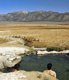 Hot Springs in Eastern California Highway 395