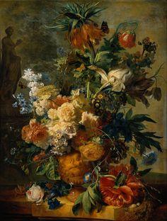 Still Life with Flowers 1723 Jan van Huysum