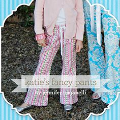 Sis Boom Katie's Fancy Pants for Girls 12m - 12y | Sewing Pattern | YouCanMakeThis.com