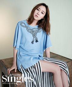 Gong Hyo Jin - Singles Magazine 2015