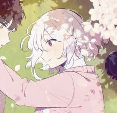 Image about cute in Anime by Stella on We Heart It Anime Couples Drawings, Anime Couples Manga, Couple Drawings, Cute Anime Couples, Manga Anime, Girls Anime, Anime Art Girl, Photo Couple Amoureux, Matching Profile Pictures