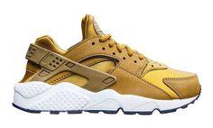 $100 - Nike Womens Air Huarache Run (bronze / white) Size 6 US #shoes #nike #2016