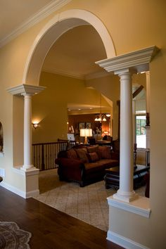 9 Modern And Beautiful Hall Arch Designs For Home House