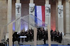 Paris : Hommage aux figures de la Résistance avant leur entrée au Panthéon - Société - via Citizenside France. Copyright : Christophe BONNET - Agence73Bis
