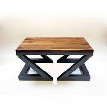 País da américa para fazer o velho ferro forjado mesa de café de madeira de móveis de madeira personalizado retro lado alguns sofá fe(China (Mainland))