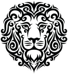 drawning lion -