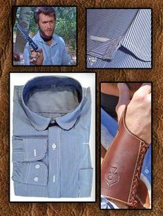 Clint Eastrwood Spaghetti Western Outfit And Collection