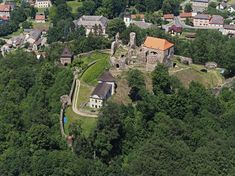 hrad Potštejn River, Mansions, House Styles, Outdoor, Home, Decor, Outdoors, Decoration, Manor Houses