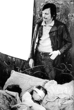 "Andrei Tarkovsky (April 1932 - December here on the set of ""Stalker"" Werner Herzog, Art Pass, Ingmar Bergman, Michelangelo Antonioni, Cinema Film, Human Emotions, Scene Photo, Film Director, Film Stills"