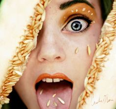 Fruity Self-Portraits by 16-Year-Old Cristina Otero