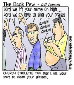 Church Etiquette/worship etiquette