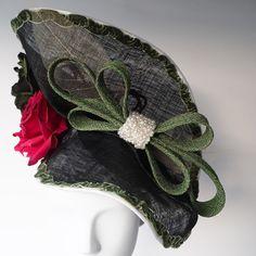 7ffbeb44d1a Elegant Feminine Hat - Large Statement Hat. Designer HatsHand SewingSecret  GardensHong KongFeminineSewing ...