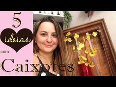 5 IDEIAS COM CAIXOTES , por Camila Camargo