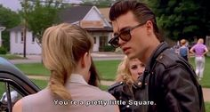Imagen de johnny depp, cry baby, and grunge Young Johnny Depp, Johnny Depp Cry Baby, Johnny Depp Movies, Cry Baby 1990, Cry Baby Movie, Jack Sparrow, Cry Baby Quotes, Movies Showing, Movies And Tv Shows
