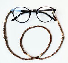 Ray-Bans jewelry, handmade necklace for eyeglasses. Www.modnienoszone.pl