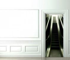 Trompe L'Oeil Door Decals by Christophe Koziel