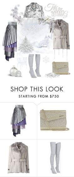 """""""Time for a new beginning"""" by zabead ❤ liked on Polyvore featuring Daizy Shely, Jimmy Choo, Burberry, Balmain, Yves Saint Laurent, chic, stylish and feminine"""