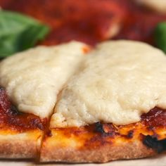 - Stretchy, melty and so cheesy you won't believe you made it yourself vegan mozzarella. Divine on pizza, inside grilled cheese sandwiches and wherever else gorgeous gooey mozzarella balls are needed. Vegan Cheese Recipes, Vegan Sauces, Vegan Foods, Vegan Dishes, Vegetarian Recipes, Cooking Recipes, Healthy Recipes, Vegan Cheese Pizza, Fromage Vegan