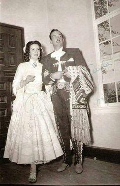 Maria Felix y Jorge Negrete Boda