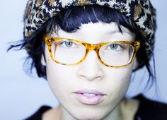 Yukimi Nagano. beanie, glasses, and everything about her.