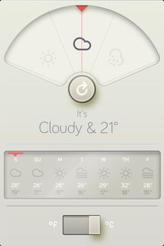 A beautiful weather app!