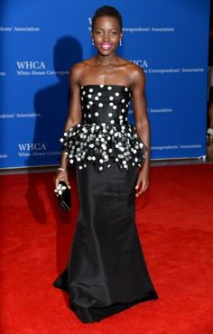 Lupita Nyong'o / Fashion At The White House Correspondents' Dinner