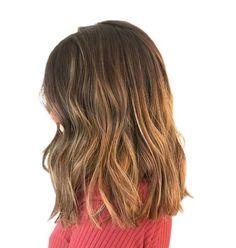 Long Blunt Cut Bob, Blunt Haircut Medium, Girls Haircuts Medium, Little Girl Haircuts, Haircut For Thick Hair, Medium Hair Cuts, Long Hair Cuts, Medium Hair Styles, Short Hair Styles