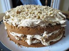 Felicity Cloake: More homely than sophisticated and dainty, this cake could keep you up all night and leave you running back and forth to the fridge for multiple midnight snacks Coffee And Walnut Cake, Pie Brownies, Midnight Snacks, Afternoon Tea, Cupcake Cakes, Cupcakes, Icing, Cake Recipes, Biscuits