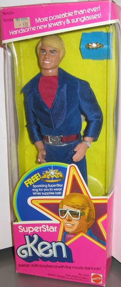 Superstar Ken Barbie doll