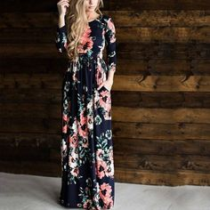 fe00043e73e5e 24 Best Fall Floral Dress images in 2018