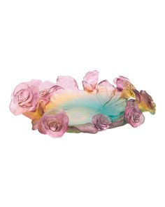 Rose Passion Bowl by Daum at Neiman Marcus.