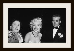 Louella Parsons & Marilyn Monroe while being seated by maitre d' Jack Martin at a Cinerama premiere dinner, held at the Cocoanut Grove nightclub………………..For more classic 60's and 70's pics please visit and like my Facebook Page at https://www.facebook.com/pages/Roberts-World/143408802354196