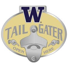 Washington Huskies NCAA Tailgater Logo Hitch Cover