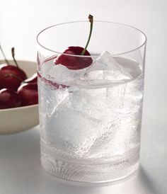 GREY GOOSE® CHERRY NOIR ON THE ROCKS