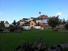 The old Bavarian city of Schärding. Innviertel, Upper Austria