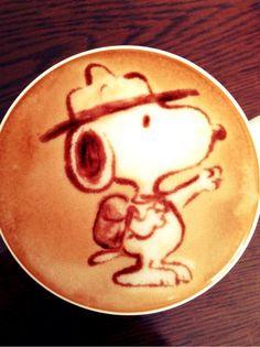 Dog Foam Latte Art - this one is spooky | Java | Pinterest | Latte ...