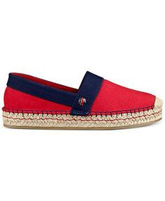 Tommy Hilfiger Inez espadrilles — put a little prep in your step