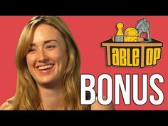 Ashley Johnson extended interview from Alhambra - TableTop ep. 17