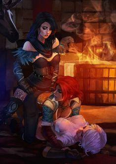 Трисс Меригольд (Triss Merigold) :: Witcher Персонажи :: The Witcher :: сообщество фанатов / красивые картинки и арты, гифки, прикольные комиксы, интересные статьи по теме.