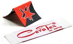 Woven Labels - Your Own Logo - Small - 2 colors